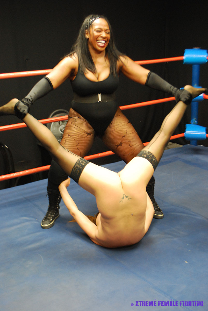 Women topless wrestling